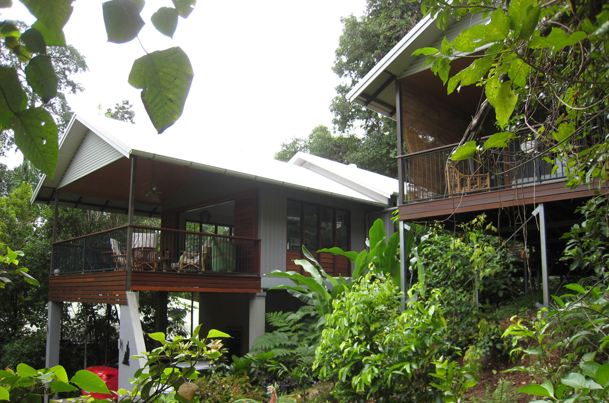 Sustainable House Design Kamerunga Envirotecture
